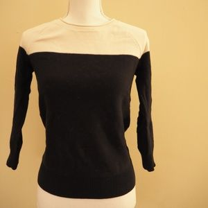Madewell Two Tone Pullover Sweater